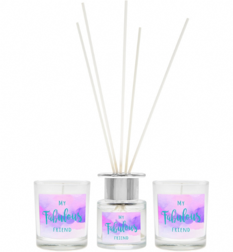 FAB FRIEND DIFFUSER &  CANDLESET gift